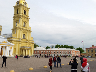 20.05.2016 15:40 | Cathedral of Saints Peter and Paul, Sankt Petersburg, Russia
