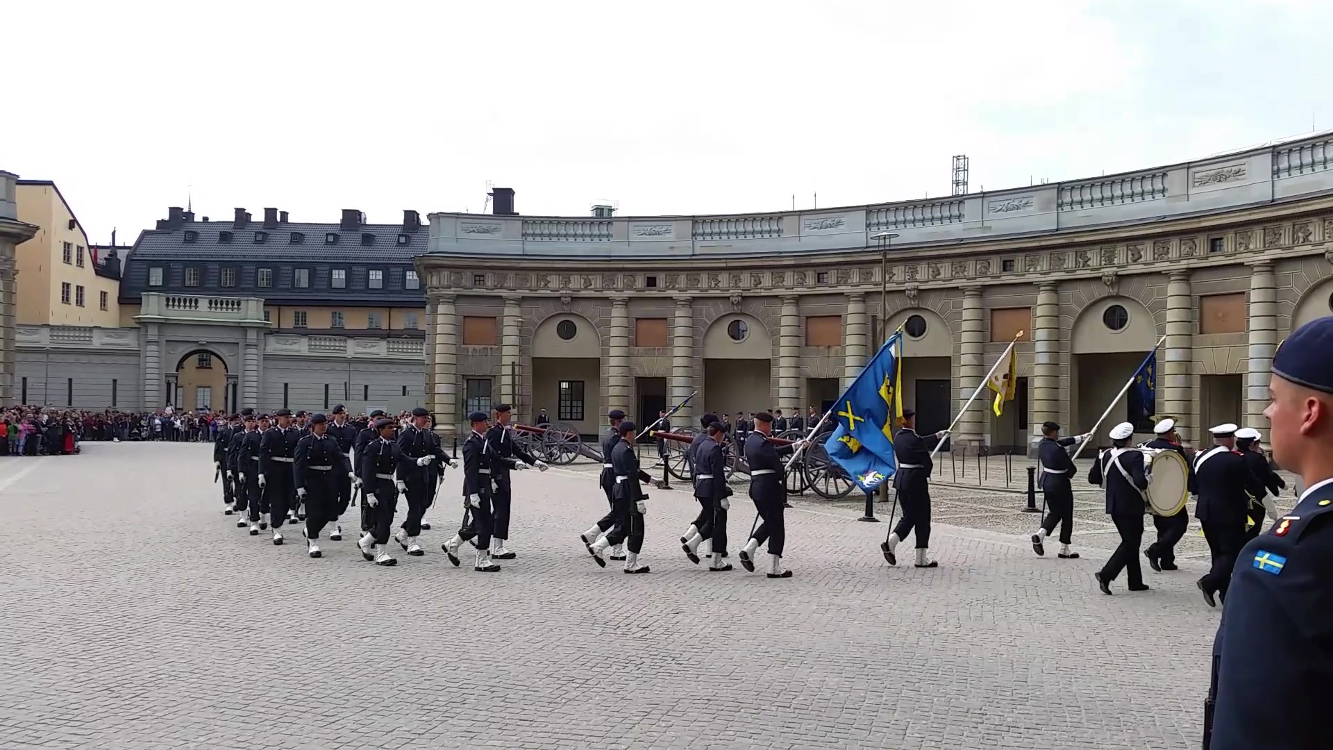 Changing of the Guards - Stockholm, Sweden